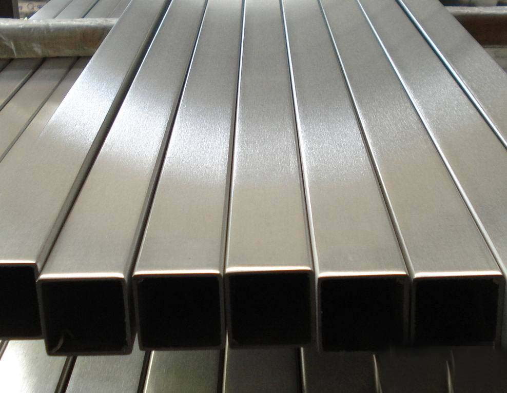 Stainless steel rectangular hollow sections