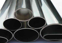 Oval tainless steel pipe